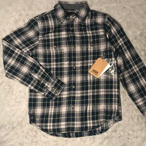Vans Flannel Top for Kids